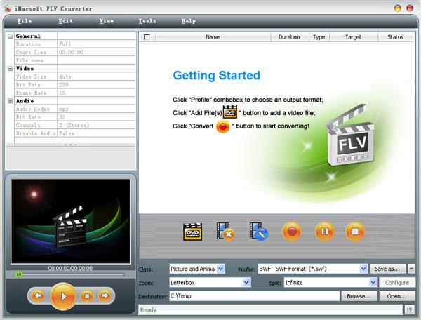 IMacsoft FLV Converter 2.4.5.0426